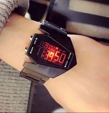 Часы светодиодные силиконовые для мужчин и женщин модные трендовые