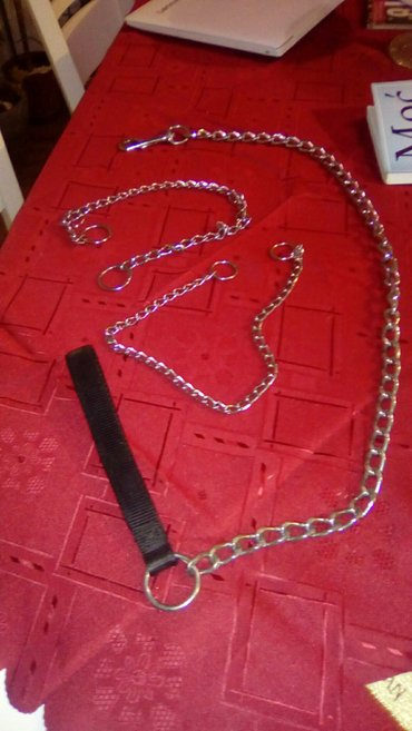 Personalni proizvodi | Smederevo: Povodnik za kuce sa dve ogrlice, deblji i tanji lanac