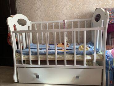 купить качалку детскую в Кыргызстан: Продаю детскую кровать-качалку Belinda(маятник поперечный);качество