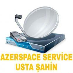 Bakı şəhərində Azerspace service. Peyk avadanlıqlarının quraşdırılması və Əlavə olunm