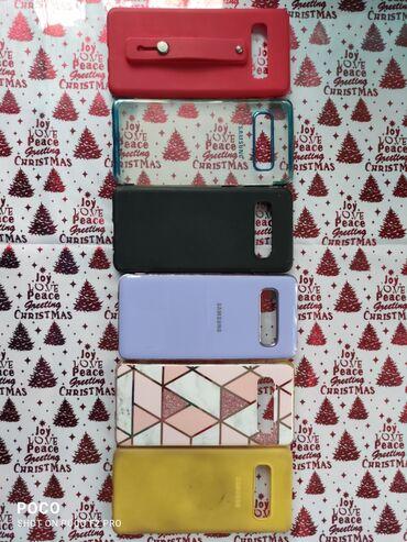 Mobil telefonlar üçün aksesuarlar - Qobu: Samsung Galaxy S10 uchun Koburalar.Koburalar az iwlenib. Qiymetine