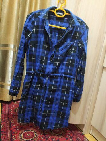 платье для кормящих в Кыргызстан: Рубашка платье  Для кормящих мам отлично подойдёт . Покупала в селе