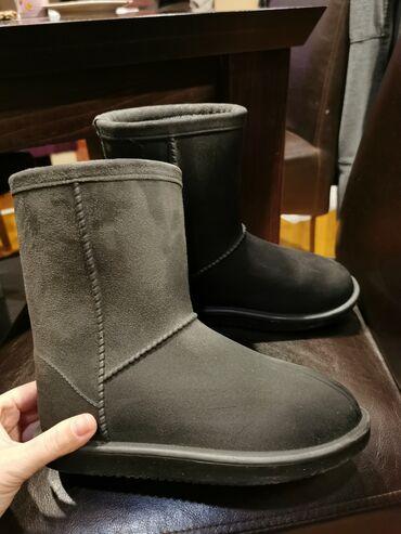 Dečije Cipele i Čizme - Jagodina: Kao nove, nepromocive, izuzetno tople, 33, ali je manji kalup, vise za