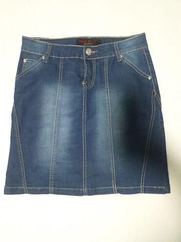 Teksas suknja, odgovara L velicini, nova nekorišćena
