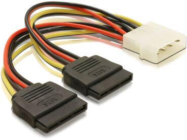 кабели и переходники для серверов minisas sata в Кыргызстан: Кабель питания, переходник • MOLEX - SATA*2Интерфейс ATX molex, ATX