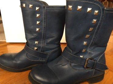 Čizme plave  38 - Zrenjanin