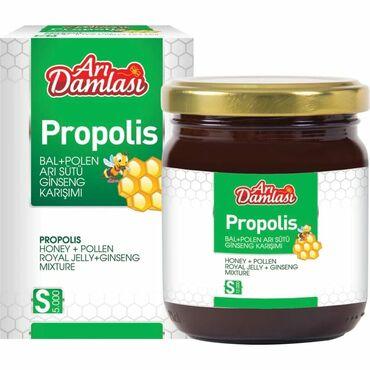 Arı Damlası Propolisli Bitki Qarışığı  Propolis, işçi bal arılarının y
