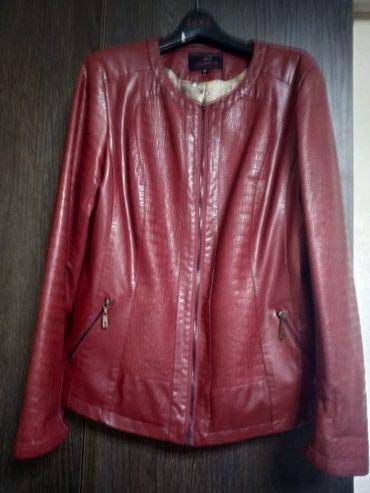 Куртка кожаная, размер 48 в Бишкек