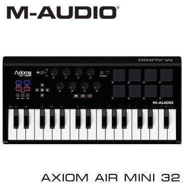 Синтезаторы - Кыргызстан: Миди-клавиатура:Основные характеристики MIDI-клавиатуры Axiom AIR Mini