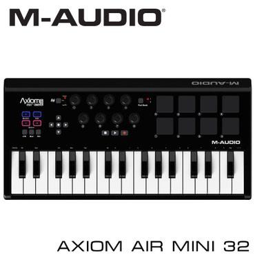 Синтезаторы - Бишкек: Миди-клавиатура:Основные характеристики MIDI-клавиатуры Axiom AIR Mini