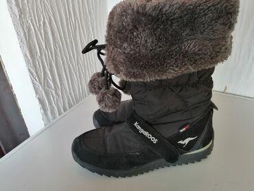 Dečija odeća i obuća - Smederevska Palanka: Cizme original Kangaroos, nepromocive od goretex materijala. Za sneg i