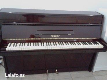 Pianino Petrof - kiçik ölçülü 103 sm öıçüde Alətlərə magazamız
