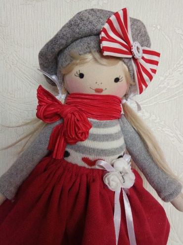 Детская игрушка кукла подарок к празднику ручной работы в Бишкек