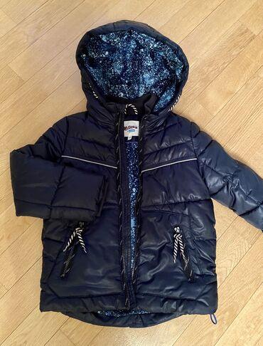 Осенняя куртка на 5-6 лет. Состояние новой! Мягкая легкая. 1400 сом