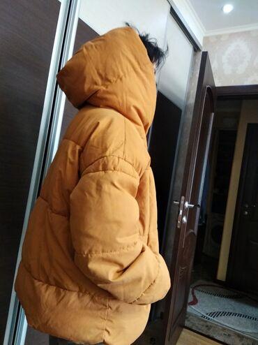 платья рубашки оверсайз в Кыргызстан: Продам пуховик женский стильный Нм ч Испании оверсайз !! Всего прошу