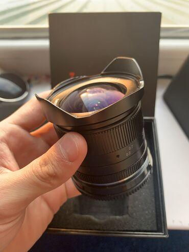 Объективы и фильтры - Кыргызстан: Широкоугольный Объектив7Artisans 12 mm f2.8Sony e-mount