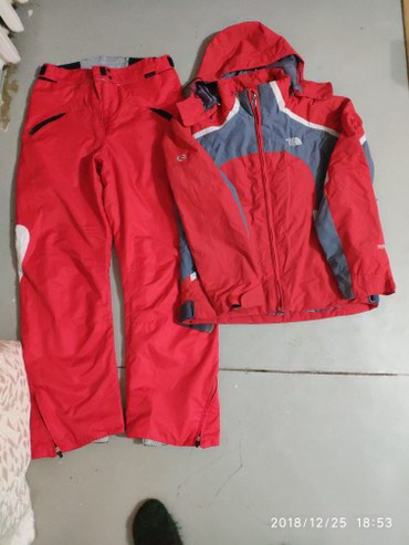 Продаю лыжный костюм б/у женский в в Ош