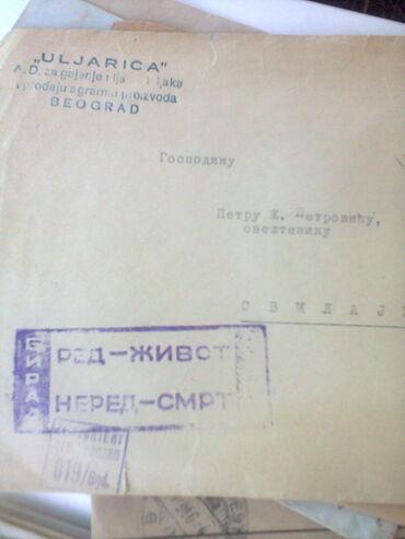 Razglednice   Srbija: DOPISNICE,PISMA, sa očuvanim markicama na njima ima ih stotinak