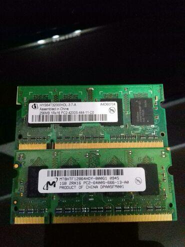 Оперативная память - Кыргызстан: DDR 2 для ноута(за обе)