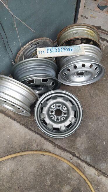 r13 диски в Кыргызстан: Продаю диски!Размер R13.Подойдут на Жигули,Фольксваген,Ауди.В хорошем