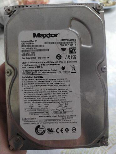 диски rota в Кыргызстан: Продам жёсткий диск на 500гб