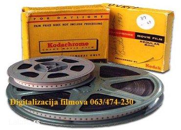 Digitalizacija super 8 i normal 8 filmova najnovija tehnologija!!! - Nis