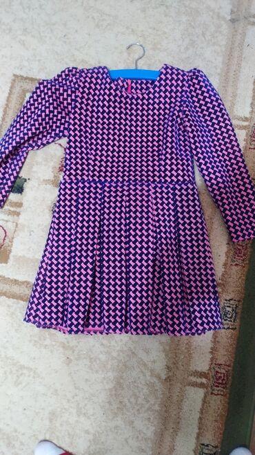 Next платье - Кыргызстан: Платье на девочку, новое, на 5-6-7 лет, зависит от ребенка.Плотное, на
