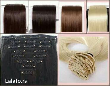 Nadogradnja kose na clipse(šnalice). Možete ih sami stavljati i - Pancevo