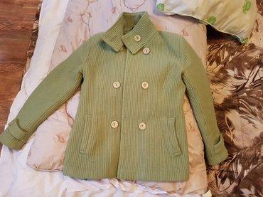 Тёплое пальто в отличном состоянии,размер 42-44 в Лебединовка