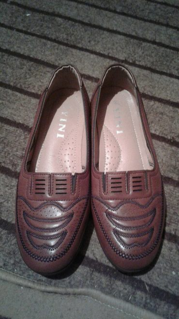 Туфли женские 38 размер коричневые на 37 размер