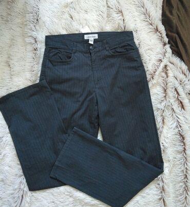 Pantalone cm - Srbija: Calvin Klein nove tamnosive pantalone iz Outleta Parndorf, imaju deo