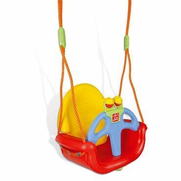Ljuljaška muzička 3 u 1 je ljuljaška za malu decu. Napravljena od