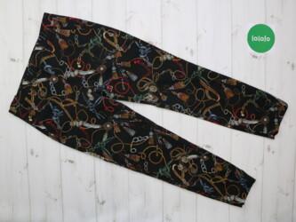 Женские леггинсы от бренда Zara,р.S         Длина: 88 см Длина шага: 6