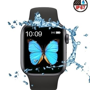 Black Unisex Wristwatches Apple