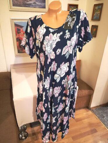 Nova zenska haljina za punije dame Moda. Italijanska. Odlicna zenska