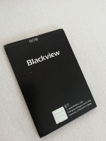 Baterija za Blackview E7S. 2700 mAh. Preuzimanje lično ili šaljem
