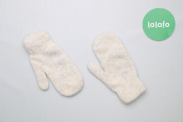 Аксессуары - Украина: Жіночі теплі рукавички зі стразами    Колір білий Довжина 21.5 см  Ста