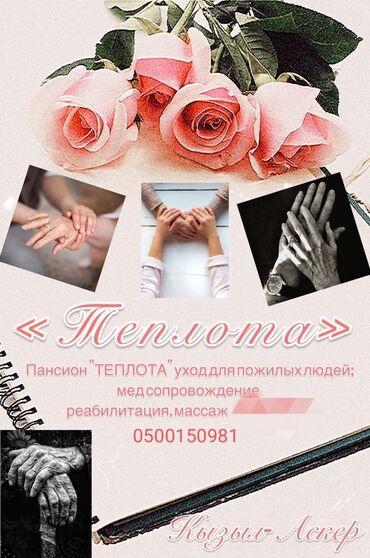 """Частный пансион""""Теплота""""представляет следующие услуги"""