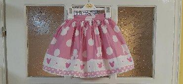 Dečiji Topići I Majice | Kragujevac: Minnie Disney suknjica, velicina 3, moja cerka ju je nosila i sa 5