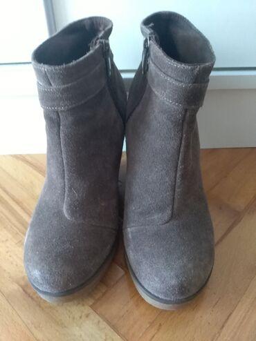 Od bunda broj - Srbija: Čizme od prirodne kože, postavljene, br 37 kao nove plaćene 6500