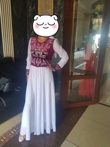 код 222 бишкек в Кыргызстан: Продаю новое платье национальное!!! была одета один раз на кыз узатуу