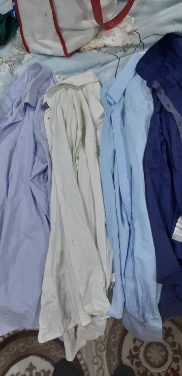 Мужские рубашки l-XL размерыбрендовые,б/у,состояние отличное