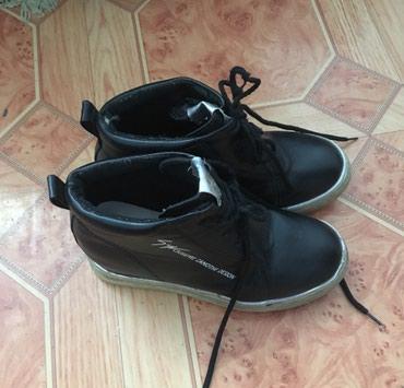 Детская обувь в Баетов: Ботиночки кожаные, детские деми 34-35 размер б/у в хорошем состоянии 3