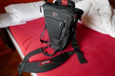 Prodajem torbu za foto aparat tipa DSLR. Novo Prodavac- vlasnik - Kráľovský Chlmec