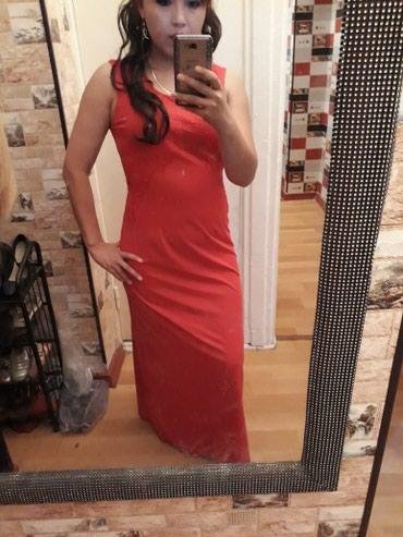 Красное платье. размер 46.48 есть отдельно рукова. очень хор кач. в Бишкек