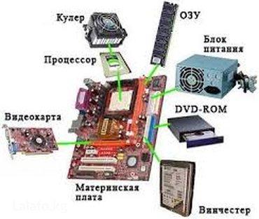 Продаю рабочие запчасти на компьютеры. Почти есть всё. в Бишкек