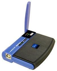 Cетевой адаптер Wireless-G USB Linksys WUSB54GS - , в Бишкек