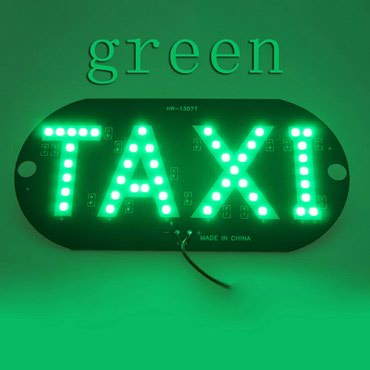 Такси светодиодный автомобиля Лобовое стекло такси световой знак синий в Bakı