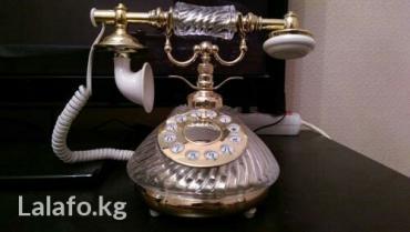 Батарейки-на-телефон - Кыргызстан: Продам хрустальный телефон! производство россия! состояние новый