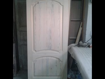 Изготовление деревянных дверей без покраски и установки в Бишкек